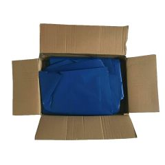Blue Refuse Bags Medium Duty Janitorial Supplies