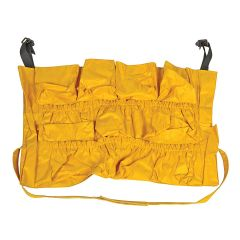 Caddy Bag for Folding Waste Cart Janitorial Supplies