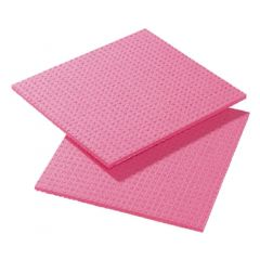 Cellulose Red Sponge Cloths Janitorial Supplies