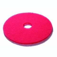 Red 20 Inch Floor Pads Janitorial Supplies