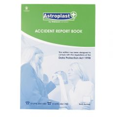 A4 Accident Report Book Janitorial Supplies