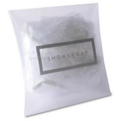 White Shower Caps Janitorial Supplies
