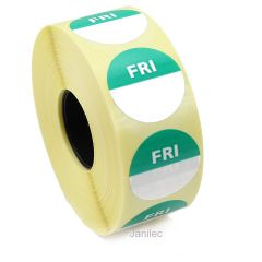 Friday Day Dots 1000 Labels Janitorial Supplies