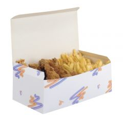Fast Food Large Paper Box Janitorial Supplies