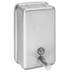 1.2 Litre Stainless Steel Soap Dispenser Janitorial Supplies