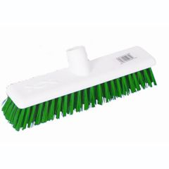 12 Inch Green Soft Hygiene Broom Head Janitorial Supplies