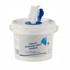 Tub of 150 Patient Cleansing Wipes Janitorial Supplies