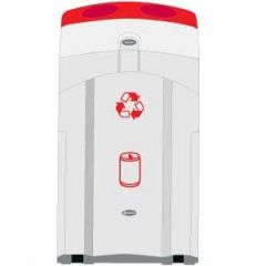 100 Litre Can Recycling Bin Janitorial Supplies