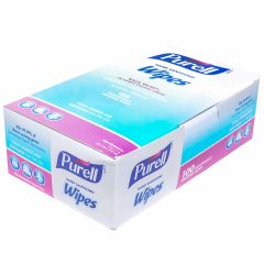 Gojo Purell Sanitizer Hand Wipes Janitorial Supplies