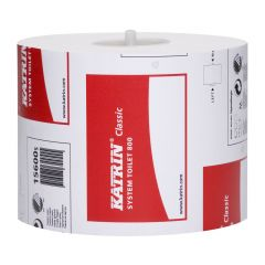 Katrin Classic System 800 Toilet Tissue Janitorial Supplies