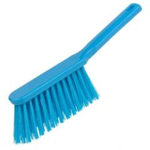 Blue Stiff Hygiene Hand Brushes Janitorial Supplies
