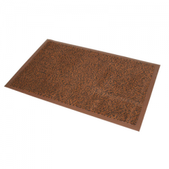 Entrance Barrier Mat 90x150cm Brown Janitorial Supplies
