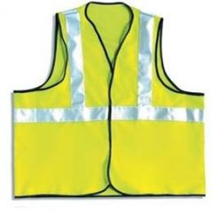 High Vis Vest 1 Band - Certified EN Janitorial Supplies