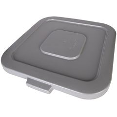 Huskee Square Lid Grey Janitorial Supplies