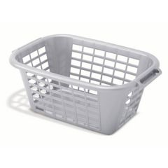 Metallic Coloured Laundry Basket Retangula Janitorial Supplies