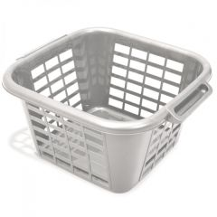 Metallic Coloured Square Laundry Basket Janitorial Supplies