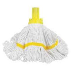 Exel Revolution Mop Head 250g Yellow Janitorial Supplies