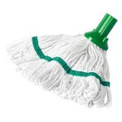 Exel Revolution Mop Head 250g Green Janitorial Supplies