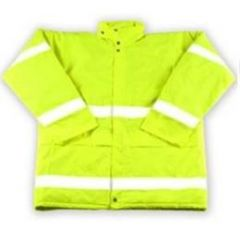 High Visibility Yellow Jacket - Extra Larg Janitorial Supplies