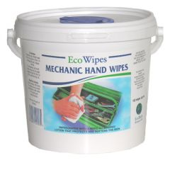 Mechanic Hand Wipes Abrasive Janitorial Supplies