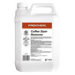 Prochem  Coffee Stain Remover 5 Litre Janitorial Supplies