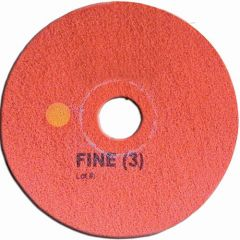 Super Shine Floor Pad System Fine 17 Inch Red Janitorial Supplies