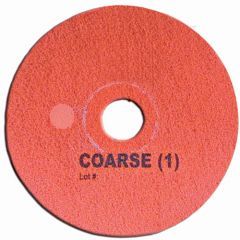 Super Shine Floor Pad System Coarse 15 Inc Red Janitorial Supplies