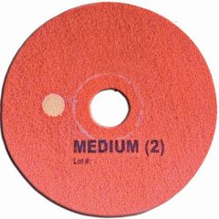 Super Shine Floor Pad System Medium 15 Inc Red Janitorial Supplies