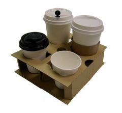 PortaTray 2/4 Cup Carrier Janitorial Supplies