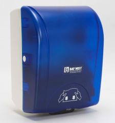 Bay West Opti-Serv Hands-Free System Blue Janitorial Supplies