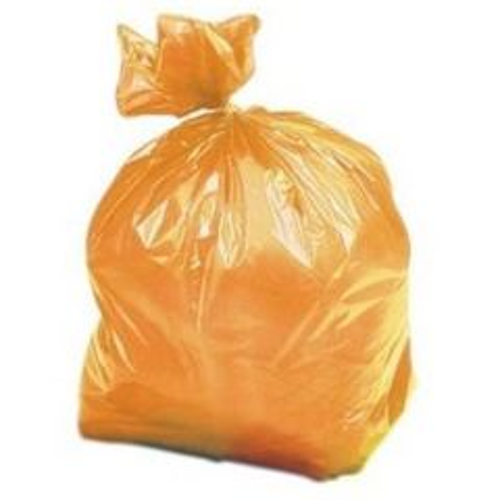 Orange Tint Refuse Sack Medium Duty 410x730x1000mm Janitorial Supplies
