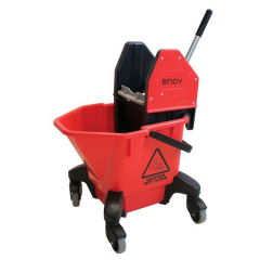 TC20 Kentucky Bucket & Wringer 20 Litre Red Janitorial Supplies
