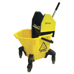 TC20 Kentucky Bucket & Wringer 20 Litre Yellow Janitorial Supplies