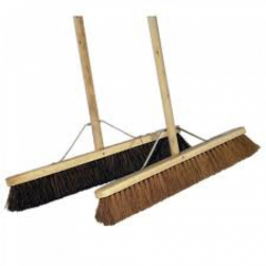 36 Inch  Complete Wooden Broom  Stiff Janitorial Supplies