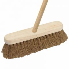 12 Inch  Complete Wooden Broom  Soft Janitorial Supplies