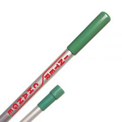 Interchange Heavy Duty Aluminium Handle Green Janitorial Supplies