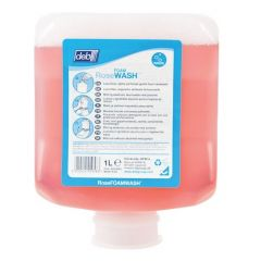 Deb Rose Foam Wash Hand Cleanser 1 Litre Janitorial Supplies