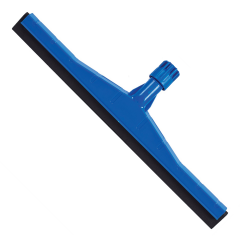 "Floor Squeegee Plastic Blue 18"" 45cm Janitorial Supplies"