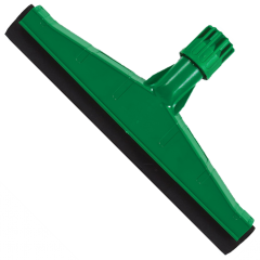 "Floor Squeegee Plastic Green 18"" 45cm Janitorial Supplies"