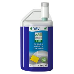eFill E-600 Concentrated Glass and Mirror Cleaner Janitorial Supplies