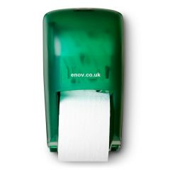 Bay West 2 Roll Vertical Dispenser Green Janitorial Supplies