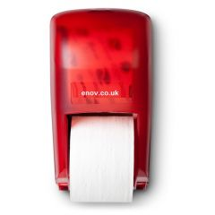 Bay West 2 Roll Vertical Dispenser Red Janitorial Supplies