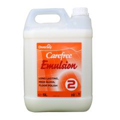 Carefree Emulsion Floor Polish Janitorial Supplies