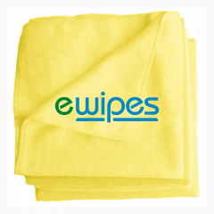 eWipe Microfiber Wipes Yellow Janitorial Supplies