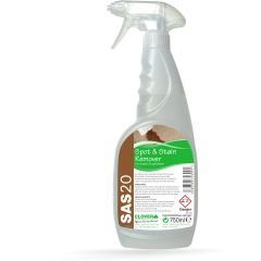 Clover SAS 20 Spot and Stain Remover RTU Janitorial Supplies