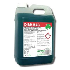 Clover Dish-Bac Bactericidal Washing Up Liquid Janitorial Supplies