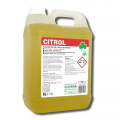 Clover Citrol Lemon Washing Up Liquid 5 Litre Janitorial Supplies