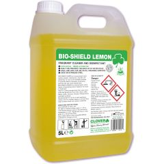 Clover Bio-Shield Lemon Acidic Cleaner Disinfectant Janitorial Supplies