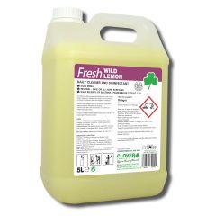 Clover Fresh Wild Lemon Daily Cleaner Disinfectant Janitorial Supplies