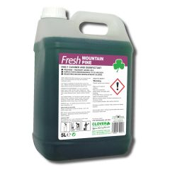 Clover Fresh Mountain Pine Daily Cleaner Disinfectant Janitorial Supplies